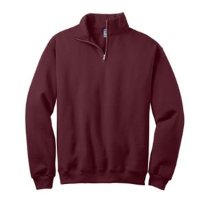 Quarter Zip sweatshirt, Maroon