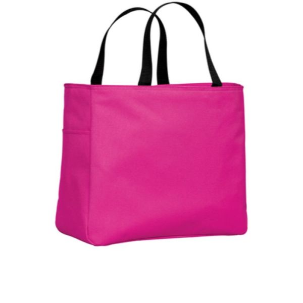B0750 tote Tropical Pink