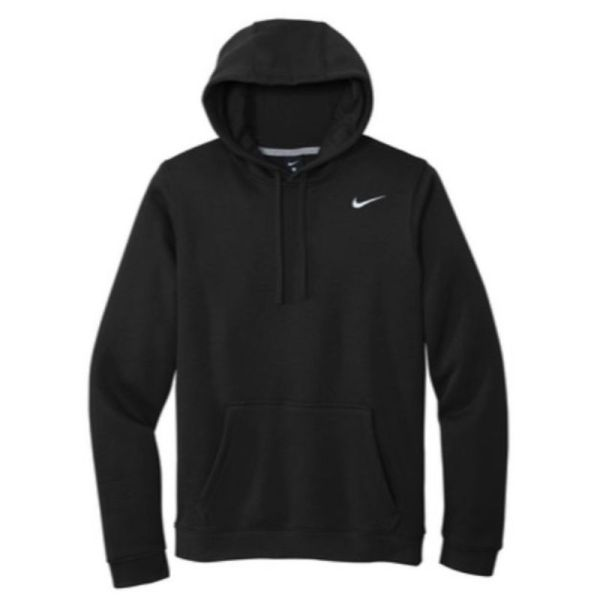 Nike Club Fleece Pullover Hoodie, Black