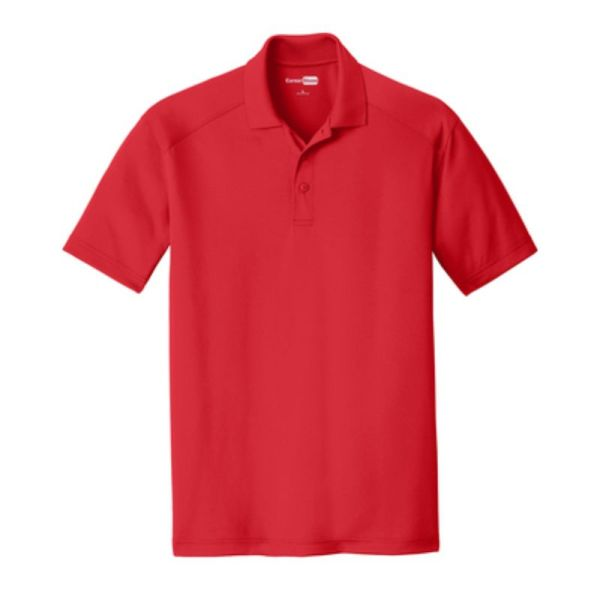 Snag-Proof Moisture-wicking Polo, Red