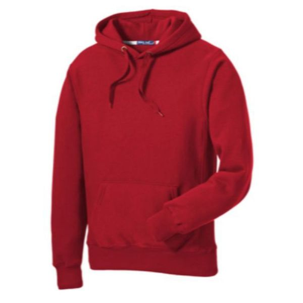 Sport-Tek® Super Heavyweight Pullover Hooded Sweatshirt, Red