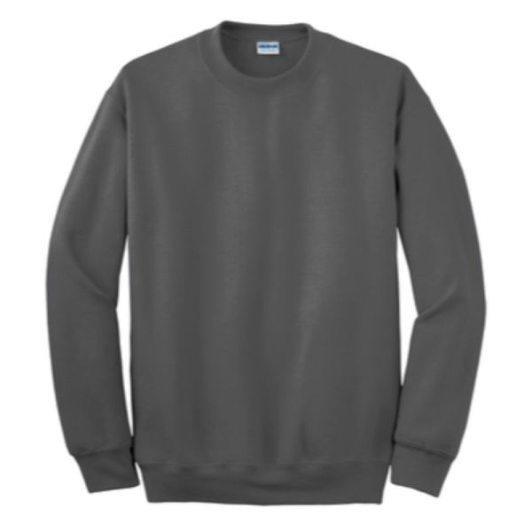 Gildan Crew Neck Sweatshirt, Charcoal