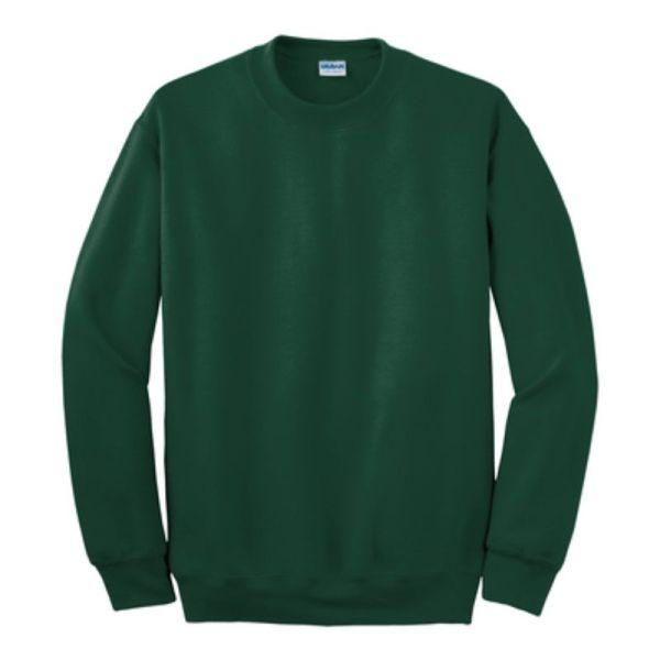 Gildan Crew Neck Sweatshirt, Forest