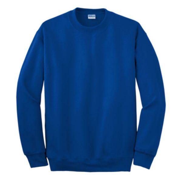 Gildan Crew Neck Sweatshirt, Royal