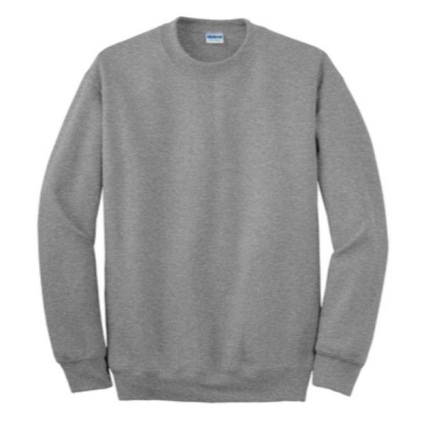 Gildan Crew Neck Sweatshirt, Sport Grey