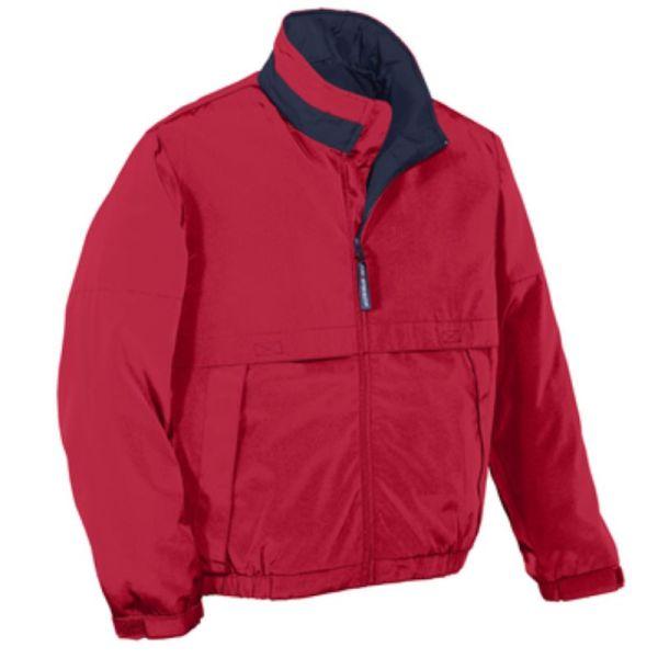 J764 Jacket RedDarkNavy