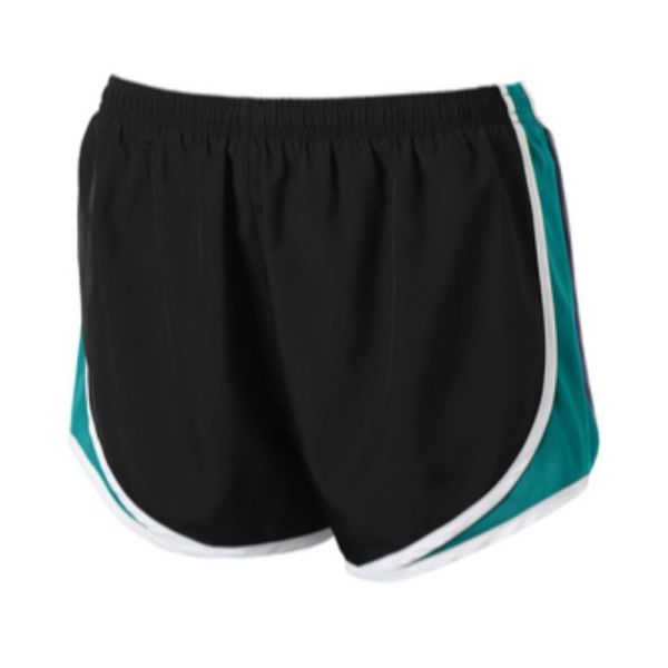 LST304 Shorts BlkTropBlueWht