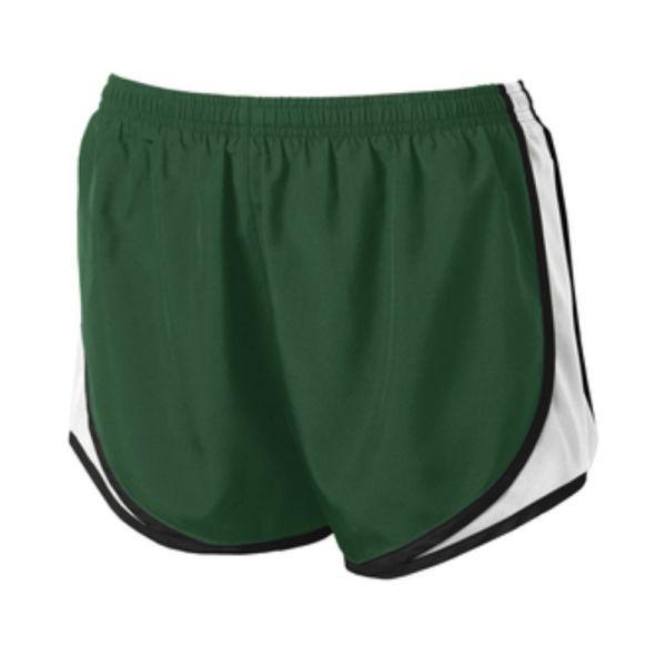 LST304 Shorts ForestWhite