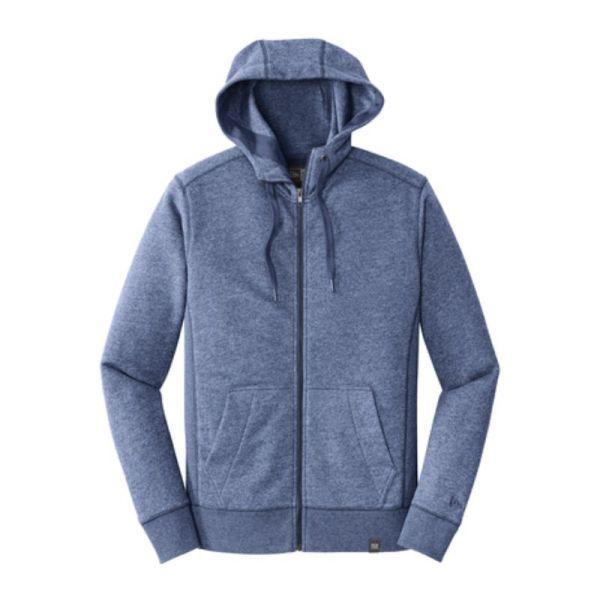 Full zip sweatshirt, blue heather