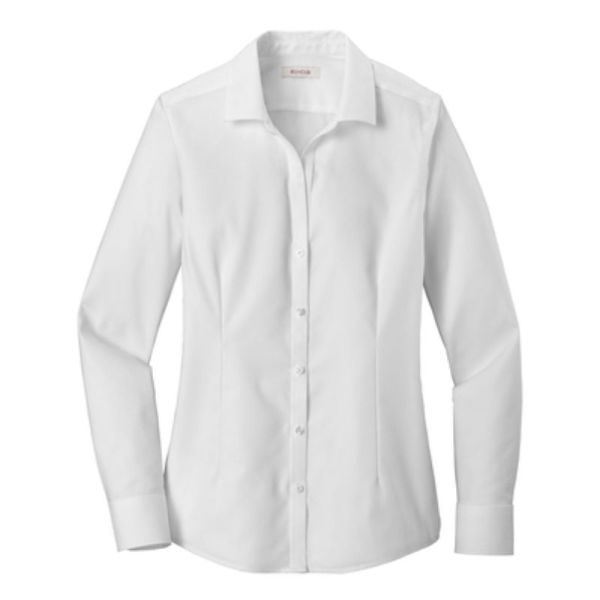 Ladies Dress Shirt White
