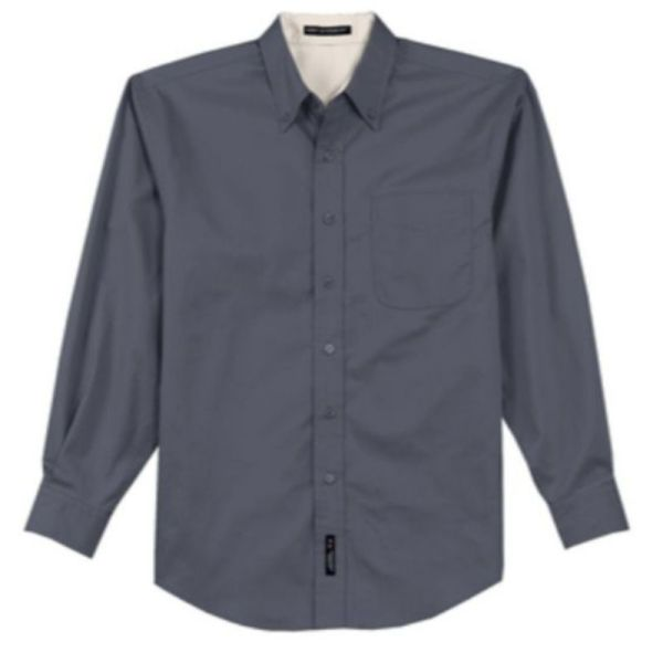 S608 Twill Dress Shirt Grey