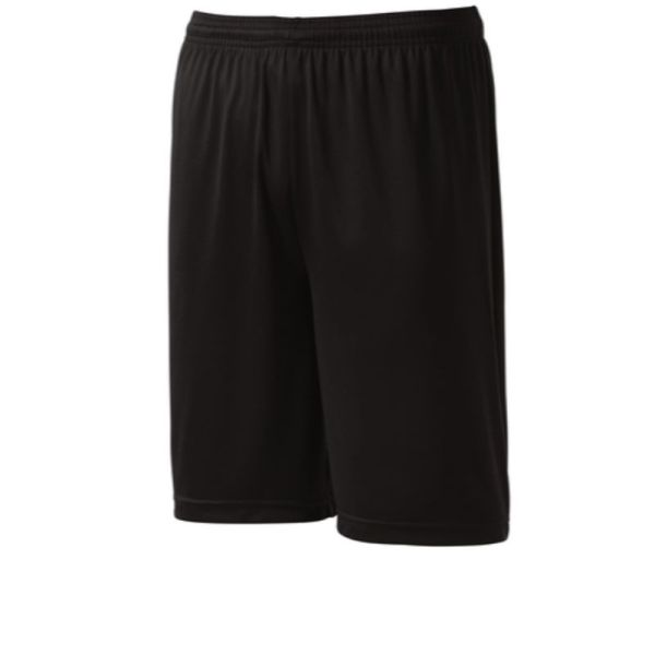 Mens athletic shorts, black