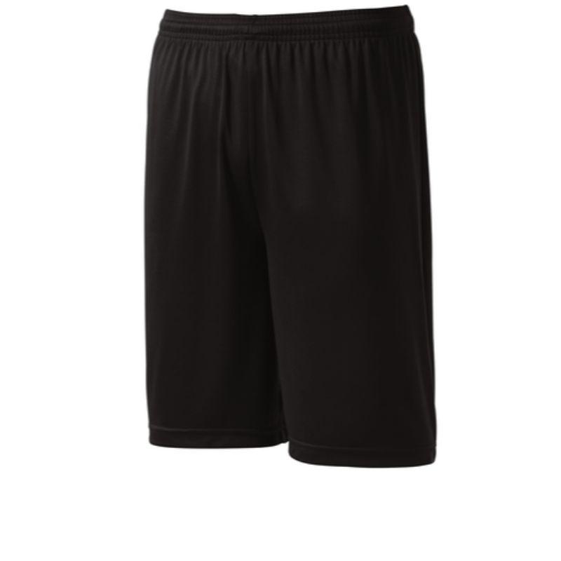 Mens athletic shorts, black