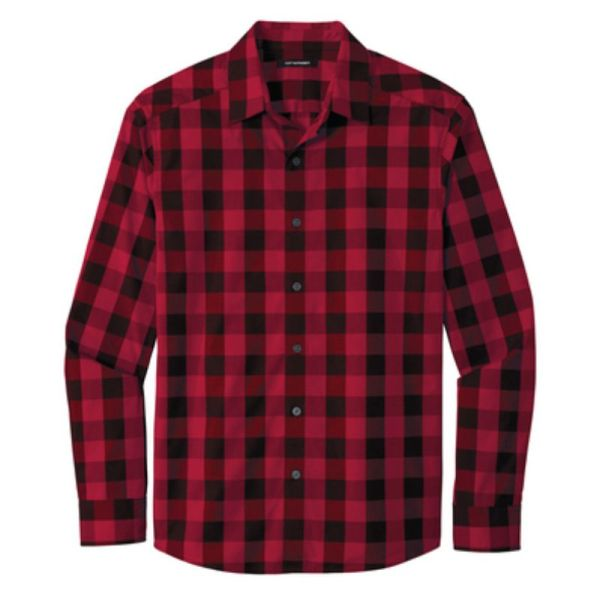 Mens Flannel Plaid Shirt