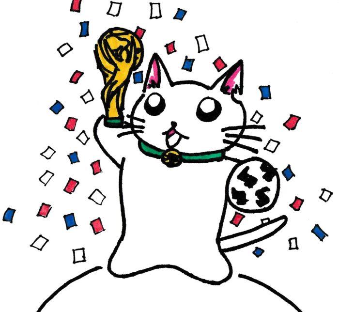 ションタの受付日記 『サッカーのこんなジンクス』