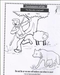 boy and sheep
