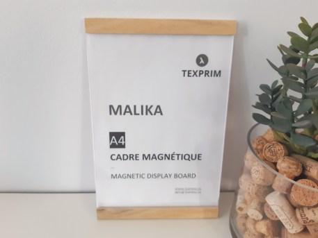 Cadre Magnétique Malika 8.5x11 Bois