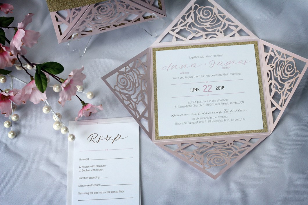 custom wedding invitations toronto | Invitationjdi.co