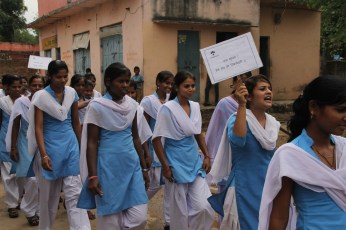 Awareness Rally in Nithauva village