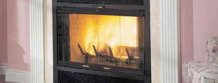 WarmMajic® Wood Burning Fireplace