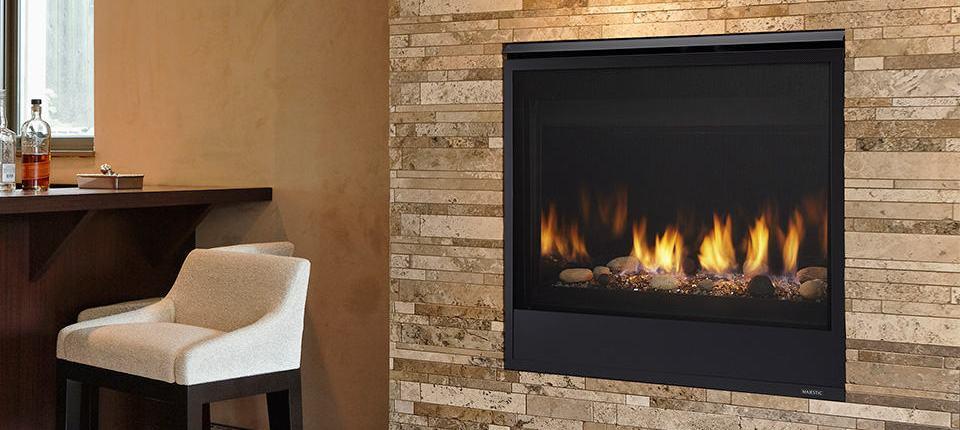 Majestic Quartz DV Fireplace