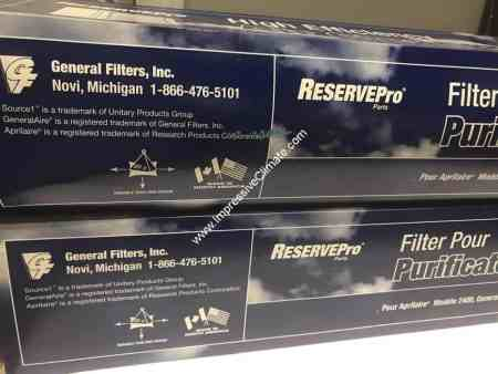 Generalaire AC24 Pleated Filters