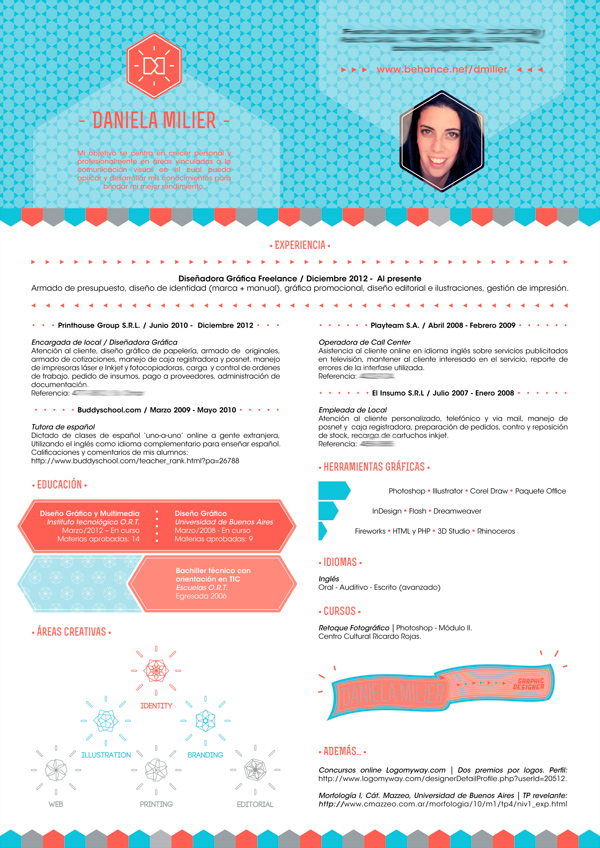 creative graphic design resume examples of resumes