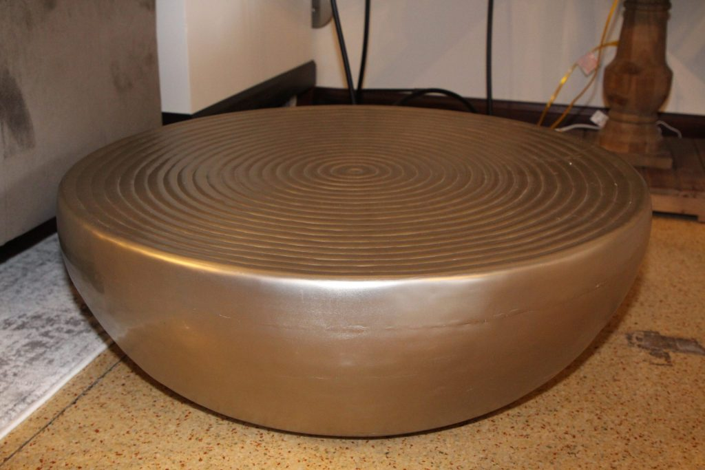 Round metal coffee table Impressive windows and interiors Hastings MN