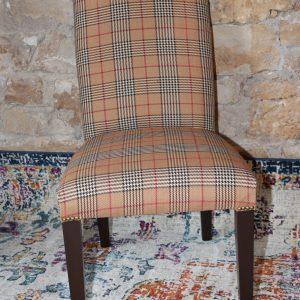 Burberry plaid parsons chair Impressive Windows & Interiors Hastings MN