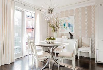 transitional design dining room