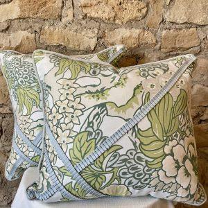 Thibaut fabric Honshu with trim