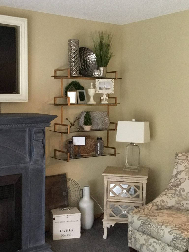 style your shelves like the pros at Impressive Windows and Interiors Hastings MN- blinds shades shutter draperies window treatments