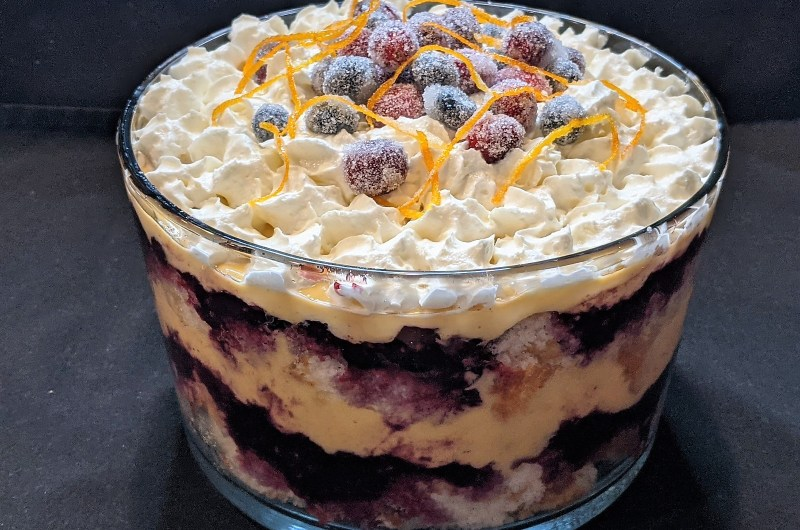 Very Berry Cranberry Trifle