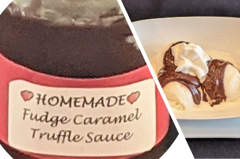 Fudgy-Caramel Truffle Sauce