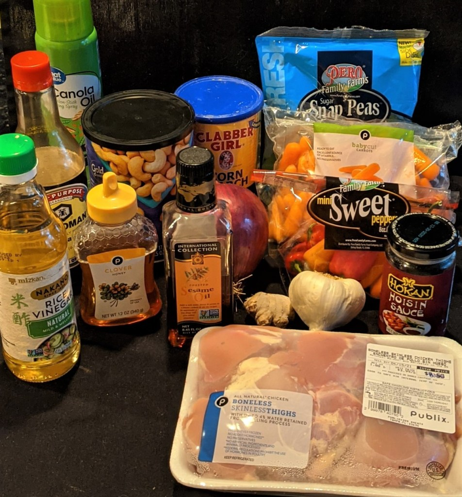 Picture of all the ingredients