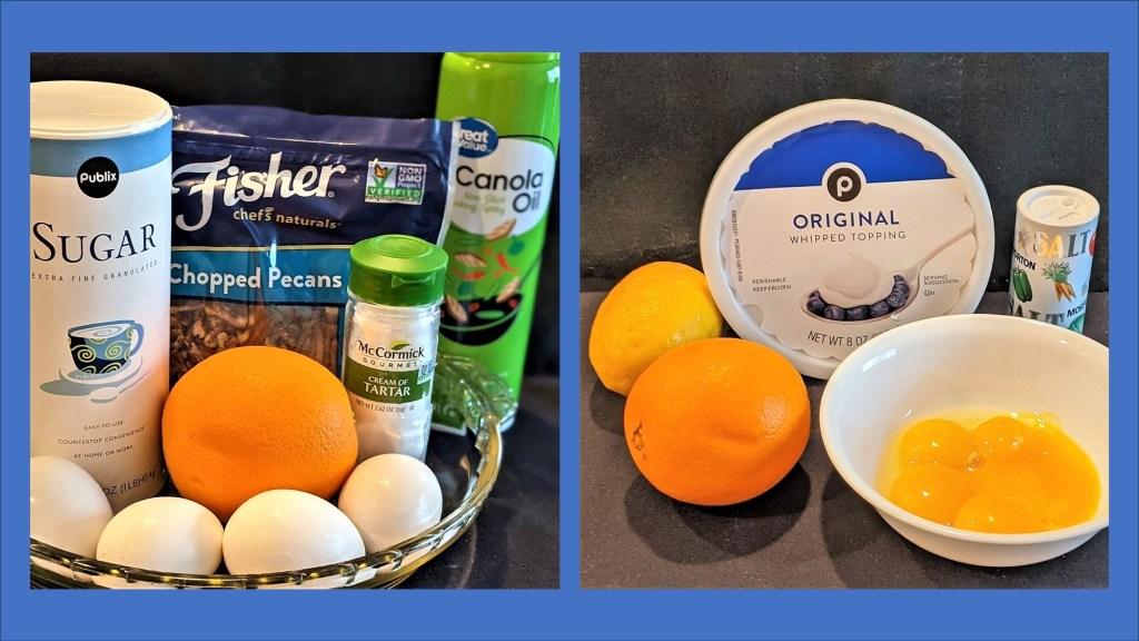 Crust ingredients and filling ingredients