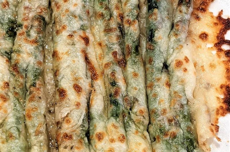 Roasted Cheesy Garlic Asparagus