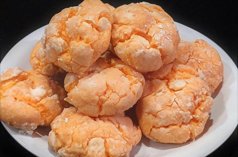 Orange Dreamsicle Cookies