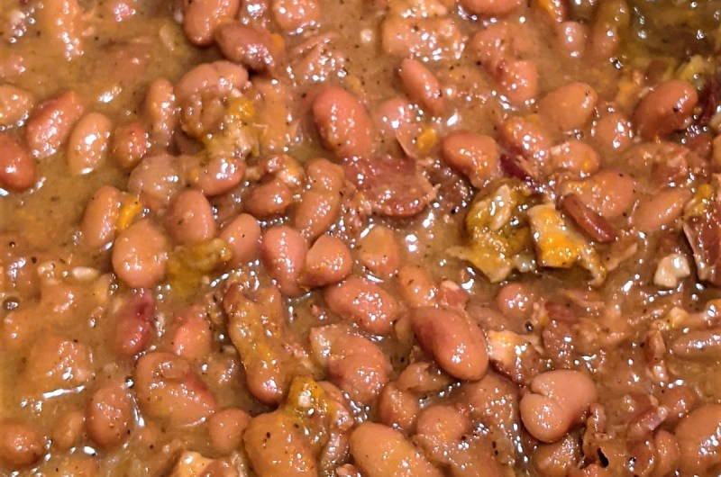 Pinto Bacon Beans