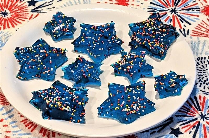 Easy Jello Stars