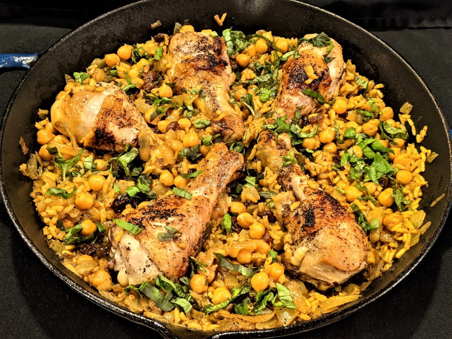 One-Pan Indian Inspired Chicken and Rice