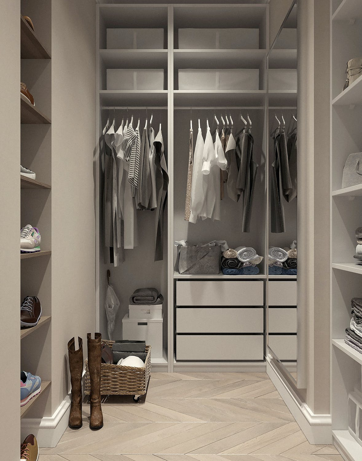 Best Closet Storage Ideas for a Small Step-in Closet (on a budget)