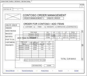 Wireframes in Sparx EA - Z order not respected