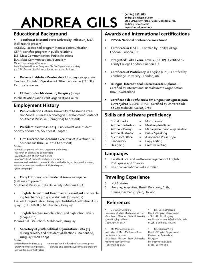 12 real and useful tips on resume building to each its own imprez