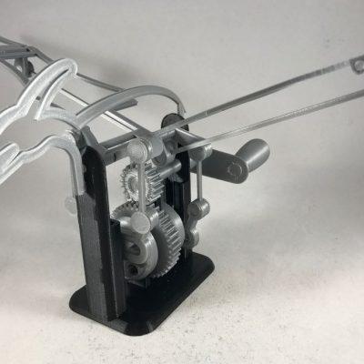 jucarie pterodactil imprimat 3d FDM