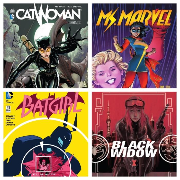 Catwoman (DC), Miss Marvel (Marvel), Batgirl (DC), Black Widow (Marvel) : les héroïnes souvent utilisées comme coéquipières au lieu de posséder leur propre film.