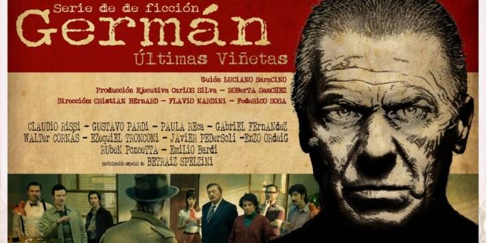 German ultimas viñetas a été primé en 2014 comme meilleure série aux Nouveaux Regards de la Télévision argentine.