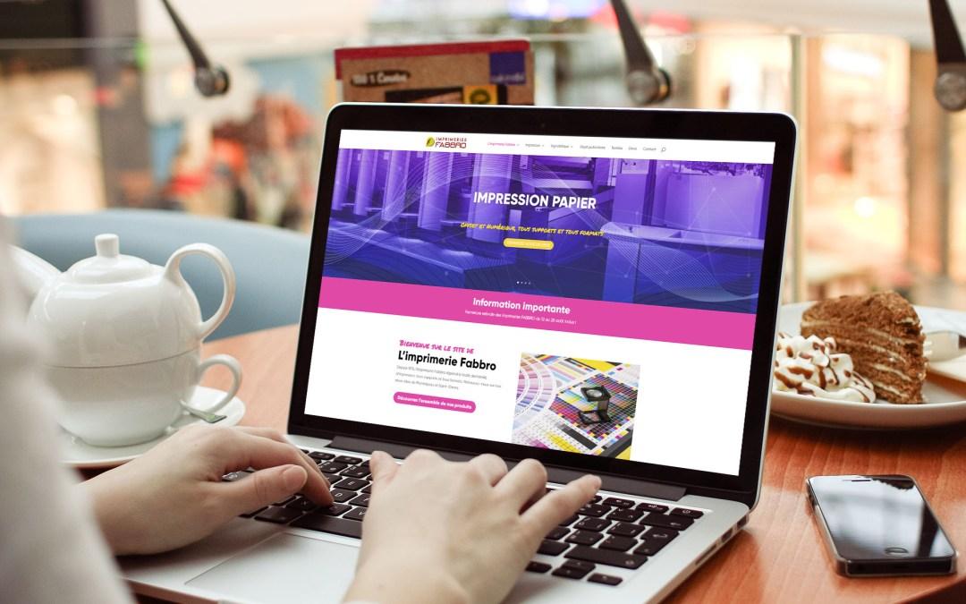 Nouveau site web pour l'imprimerie!