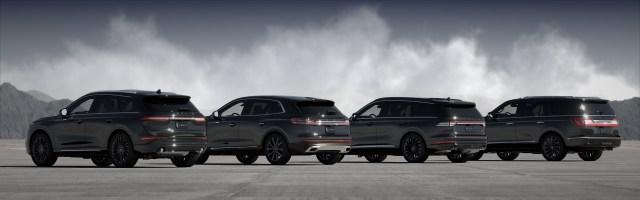 Lincoln Monochromatic SUV lineup
