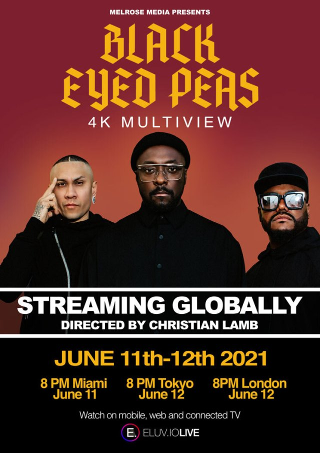 IMPRINTent, IMPRINT Entertainment, YOUR CULTURE HUB, Black Eyed Peas, Melrose Media, BEPLIVE